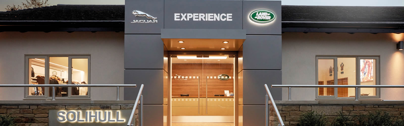 LAND ROVER EXPERIENCE CENTRE SOLIHULL<br><br>